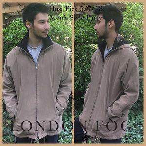 🎉HP🎉🔴EUC Men's London Fog Parka